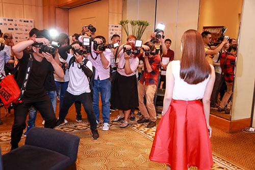 Trương Quỳnh Anh khoe nhan sắc trẻ trung tại sự kiện-8