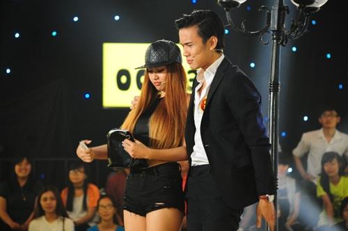 'Hậu duệ Trấn Thành' diễn hài khiến giám khảo bất ngờ-5
