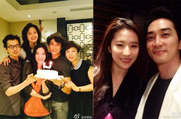Lưu Diệc Phi - Song Seung Hun tránh mặt nhau-3