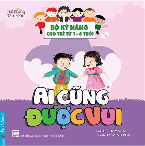"""trang bi ky nang song cho con bang """"bo ky nang cho tre tu 1 - 6 tuoi"""" - 6"""
