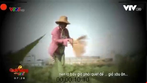 nguoi phu nu dung choi quet rau trong phong su cua vtv len tieng - 1