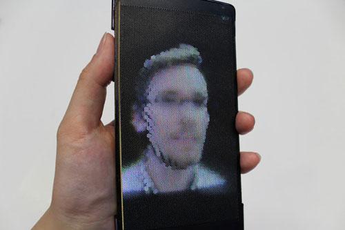 ra mat smartphone man hinh uon deo, hien thi 3d - 2