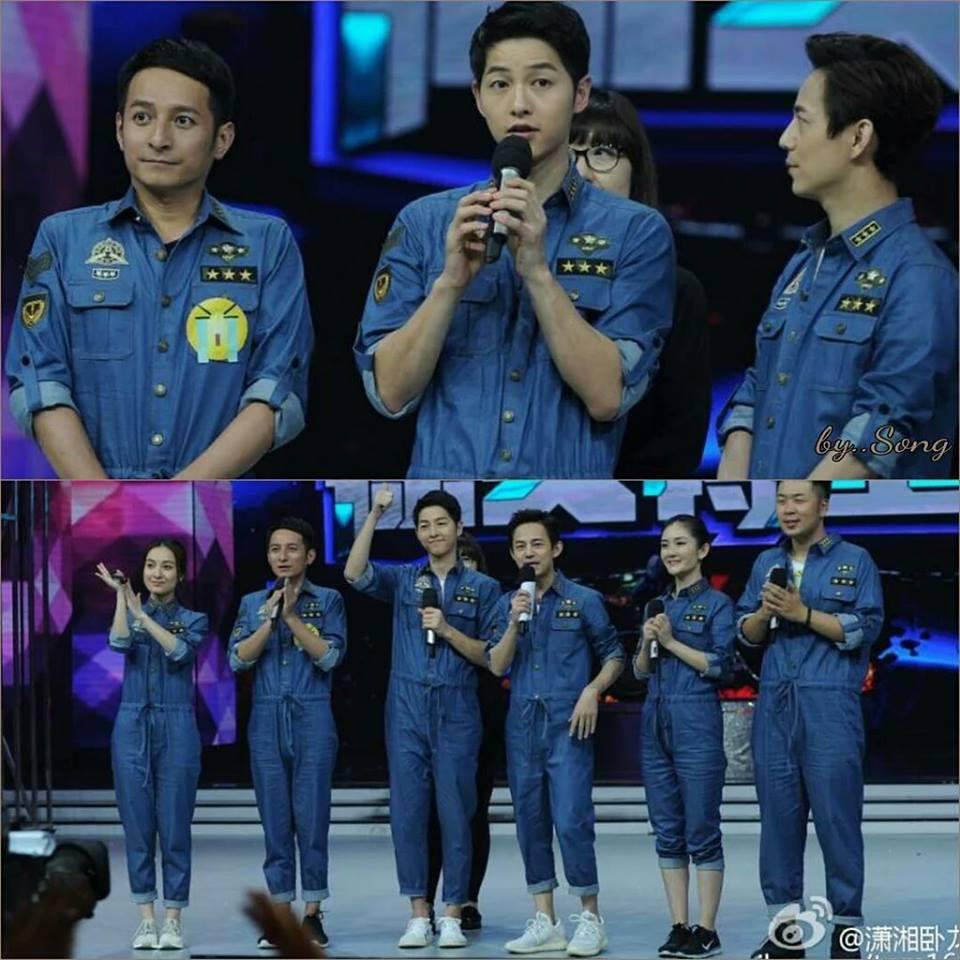 "showbiz 24/7: lo anh song joong ki ""oai"" vi chay show - 3"