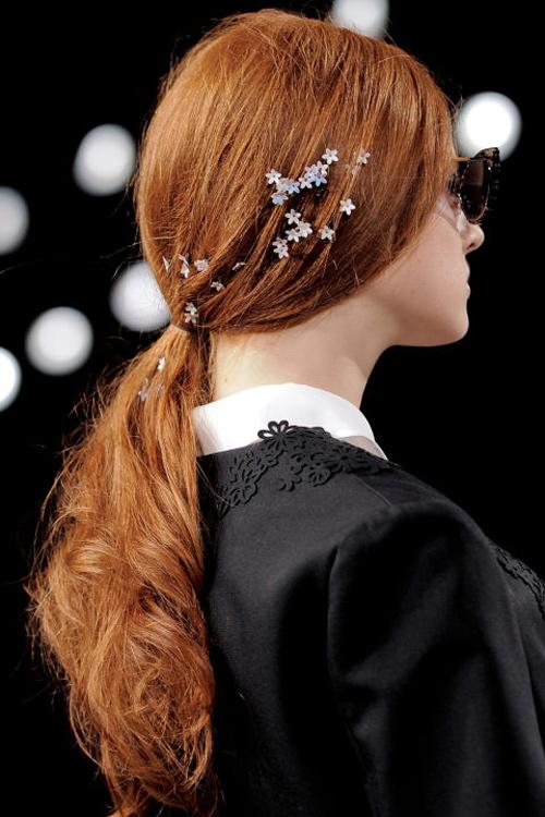 Những kiểu tóc tuyệt đẹp cho cô dâu mùa hè-7