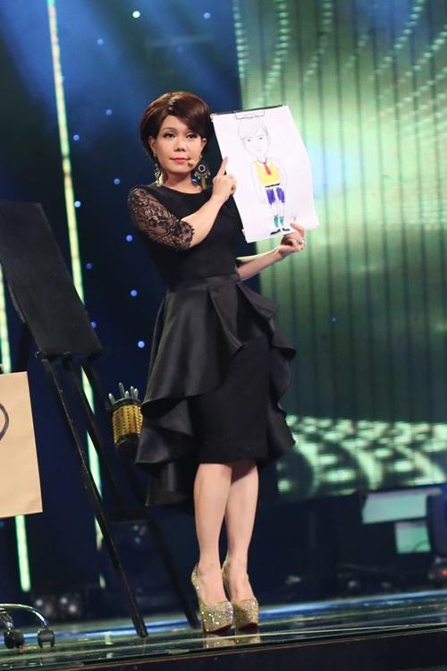 viet huong long lay thu trang phuc cho gala vn's got talent - 10