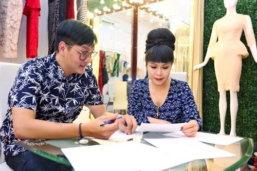 viet huong long lay thu trang phuc cho gala vn's got talent - 2