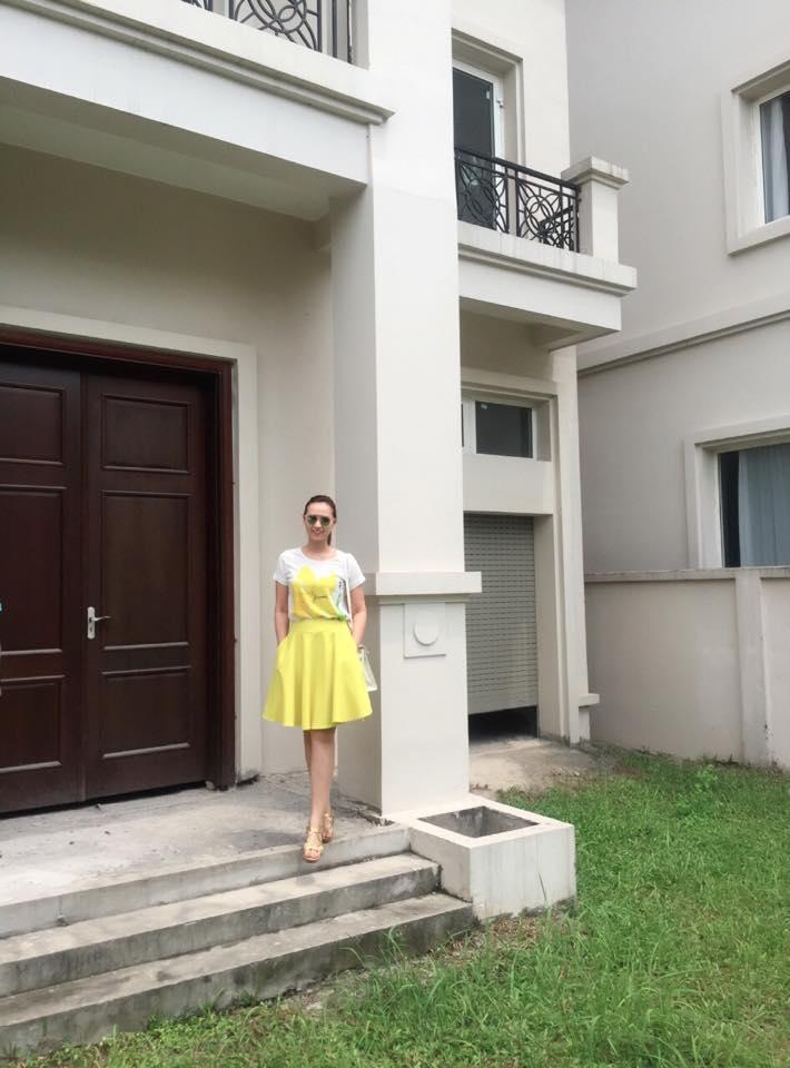 Lã Thanh Huyền hào hứng khoe biệt thự sang có vườn, cạnh sông-6