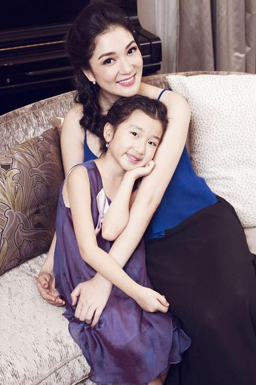 5 cô con gái xinh không kém mẹ của các Hoa hậu Việt-6