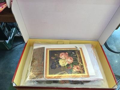 Những mẫu tranh hoa thêu chữ thập đẹp cho mùa hè-5