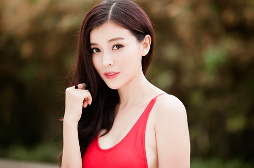 """""""Người đẹp xứ Dừa"""" khoe vẻ sexy tại hồ bơi với bikini-3"""