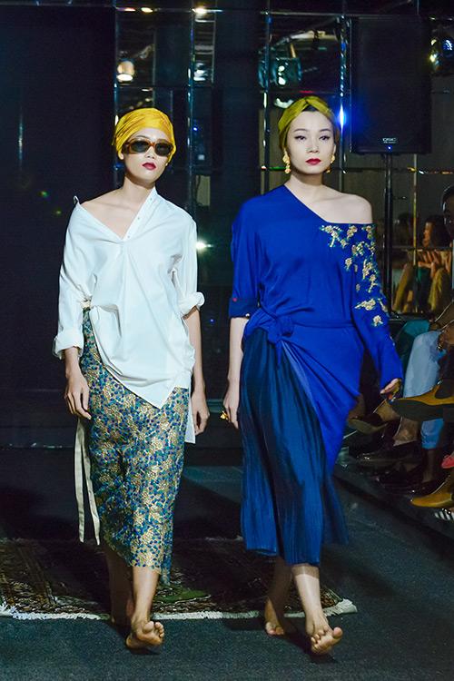 Người mẫu đồng tính mở màn BST Xuân Hè của NTK Li Lam-9