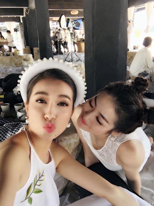"""pham huong, mai phuong thuy, huyen my """"quay"""" tung bung - 5"""