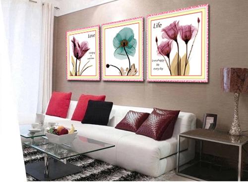 Những mẫu tranh hoa thêu chữ thập đẹp cho mùa hè-1