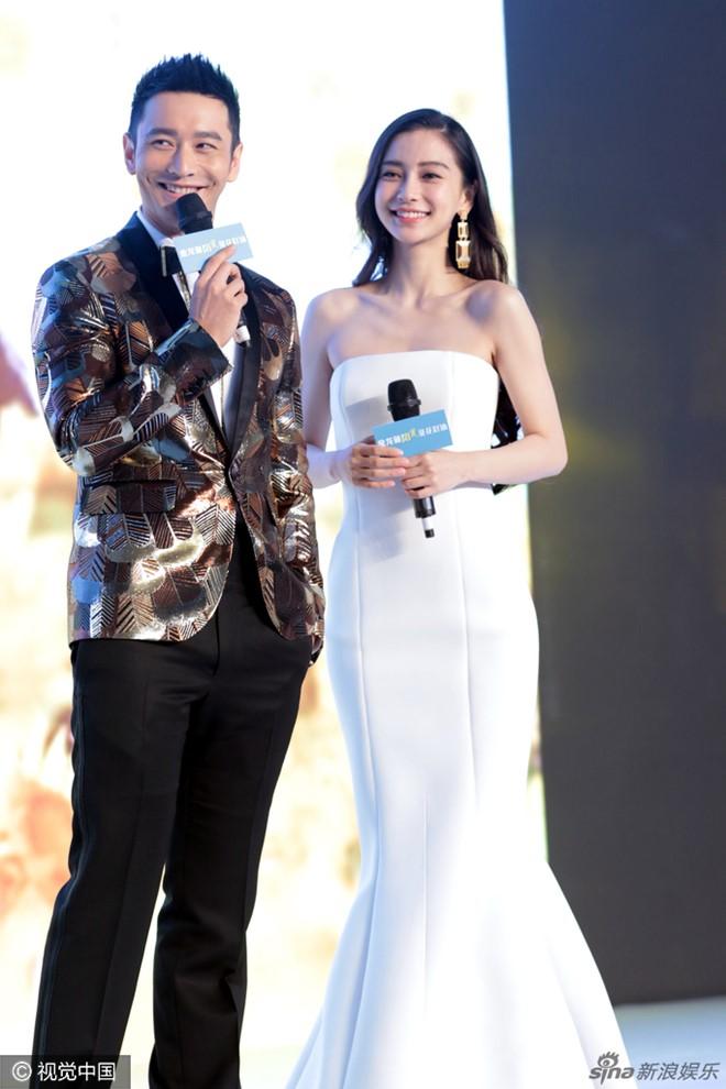 Vợ chồng Huỳnh Hiểu Minh hiếm hoi đi sự kiện cùng nhau-1
