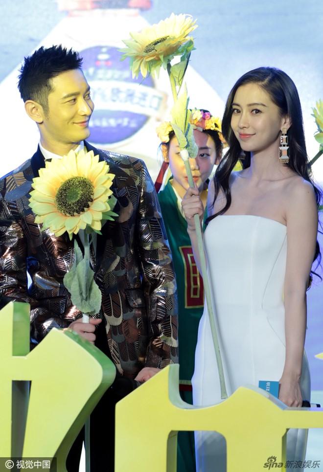 Vợ chồng Huỳnh Hiểu Minh hiếm hoi đi sự kiện cùng nhau-2