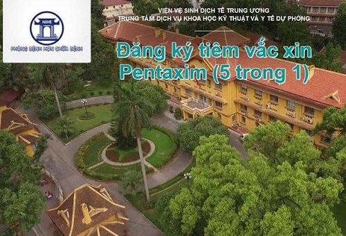 Đăng ký 3.500 liều vắc xin Pentaxim vào ngày 19/5-1