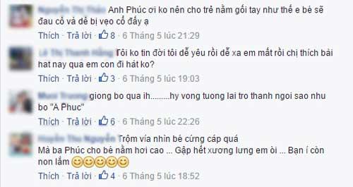 Sao Việt khiến dân mạng tranh cãi vì không biết nuôi con-10