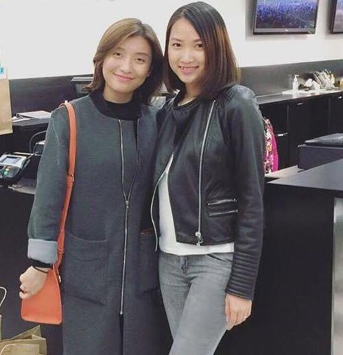 Tiêu Châu Như Quỳnh hội ngộ vợ 9x của Lam Trường ở Mỹ-8