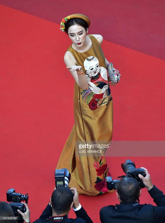 Angela Phương Trinh khôn khéo chọn đồ tại Cannes-5