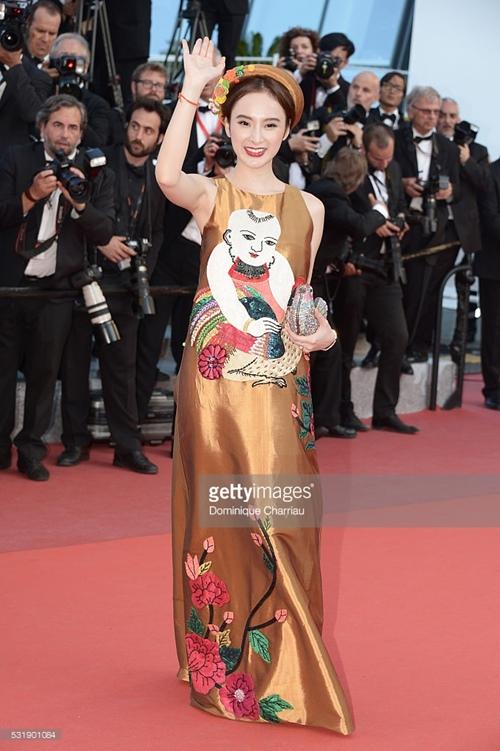 Angela Phương Trinh khôn khéo chọn đồ tại Cannes-1