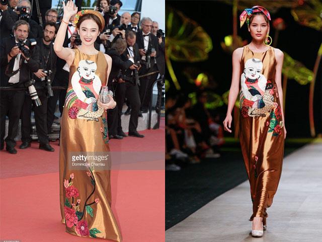 Angela Phương Trinh khôn khéo chọn đồ tại Cannes-2