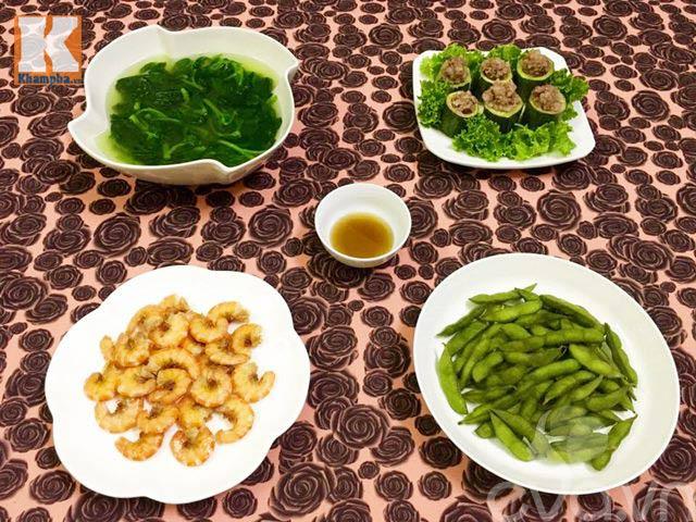 Bữa ăn chiều đơn giản mà ngon-1