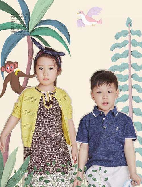 Cặp sinh đôi nhà Lee Young Ae càng lớn càng đáng yêu-1