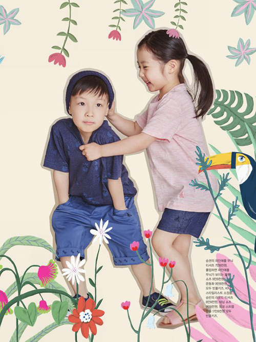 Cặp sinh đôi nhà Lee Young Ae càng lớn càng đáng yêu-2