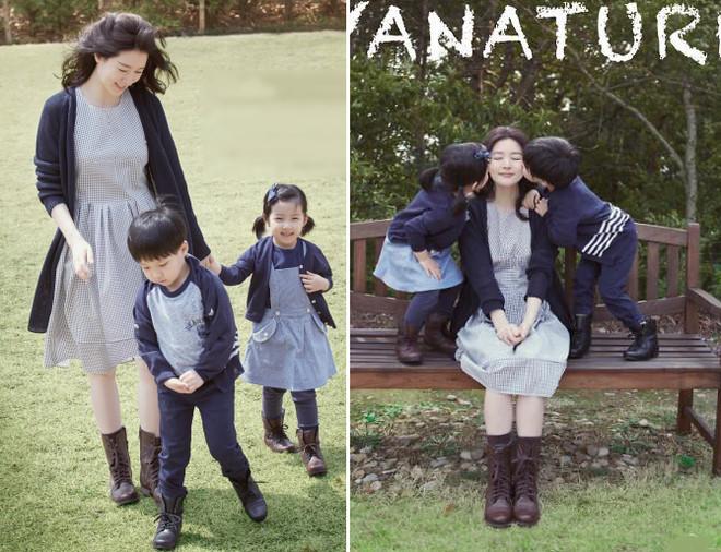 Cặp sinh đôi nhà Lee Young Ae càng lớn càng đáng yêu-7