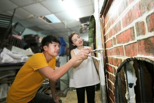 Quang Tuấn - Linh Phi tự tay chuẩn bị cho đám cưới vintage-7