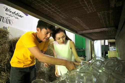 Quang Tuấn - Linh Phi tự tay chuẩn bị cho đám cưới vintage-6