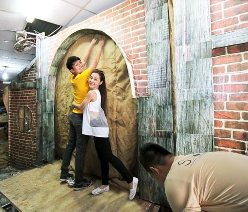 Quang Tuấn - Linh Phi tự tay chuẩn bị cho đám cưới vintage-8