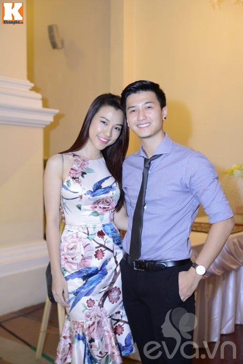 Ngọc Lan và người yêu nắm tay đi đám cưới Quang Tuấn - Linh Phi-3