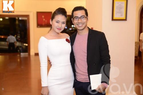 Ngọc Lan và người yêu nắm tay đi đám cưới Quang Tuấn - Linh Phi-2
