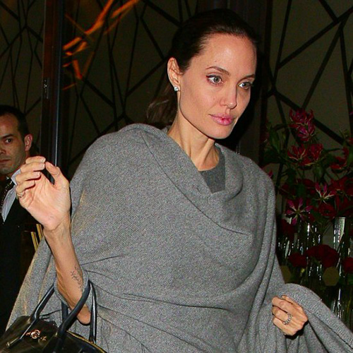 Fan xót xa khi Angelina Jolie ngày càng gầy gò tiều tụy-5