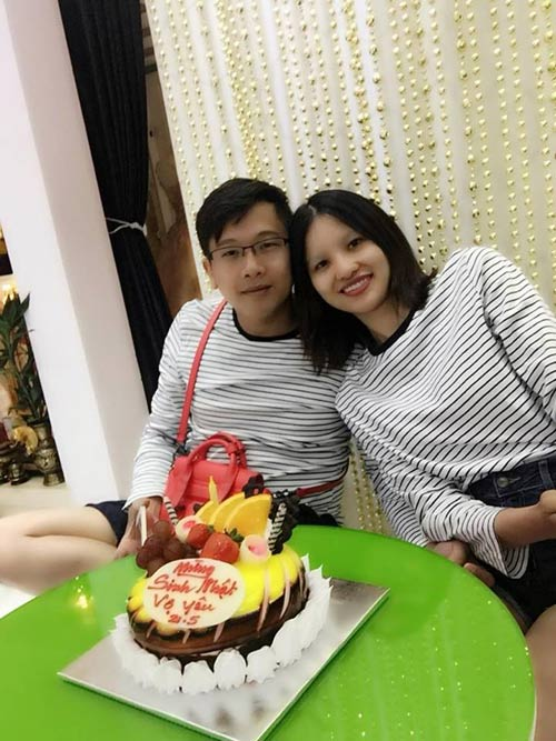 """gai que"" le thi phuong hanh phuc don sinh nhat ben chong sap cuoi - 1"