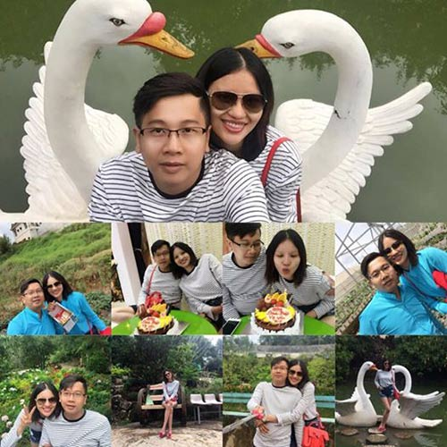 """gai que"" le thi phuong hanh phuc don sinh nhat ben chong sap cuoi - 5"