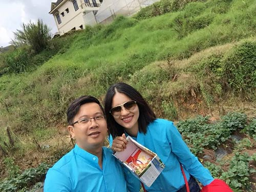 """gai que"" le thi phuong hanh phuc don sinh nhat ben chong sap cuoi - 3"