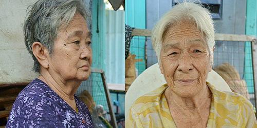 Bật khóc trước tâm nguyện được chụp tấm ảnh thờ của hai cụ bà-2