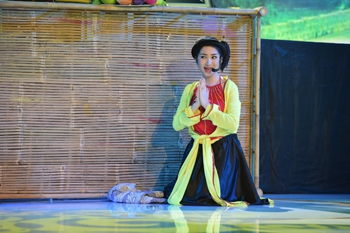 "hoai linh, my linh cuoi nac ne truoc hari won ""phien ban loi"" - 12"