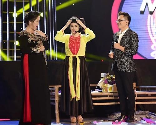 "hoai linh, my linh cuoi nac ne truoc hari won ""phien ban loi"" - 13"