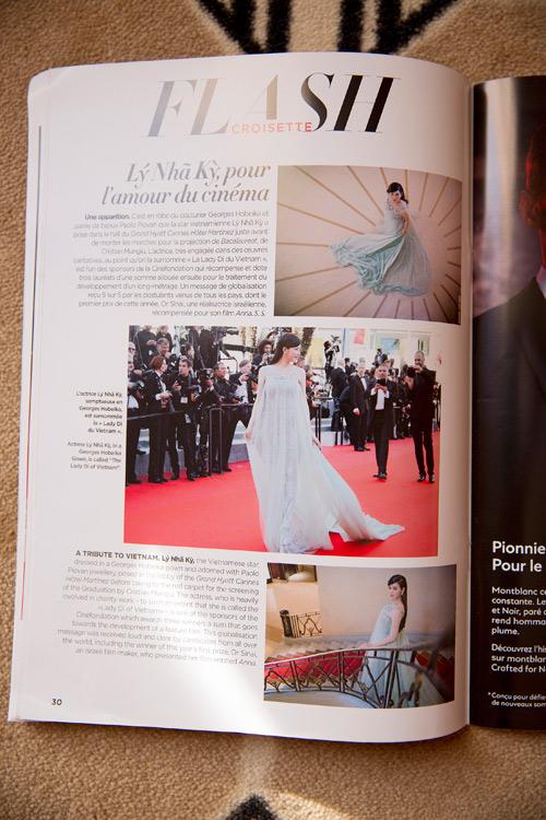 Lý Nhã Kỳ được tạp chí hàng đầu Pháp gọi là 'Công nương Diana của Việt Nam'-7