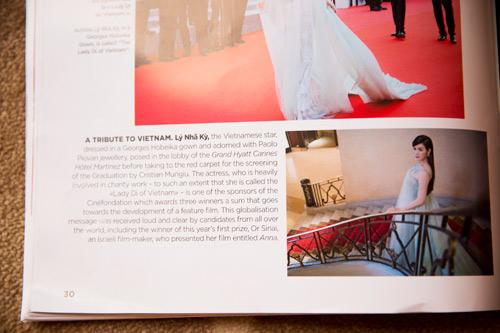 Lý Nhã Kỳ được tạp chí hàng đầu Pháp gọi là 'Công nương Diana của Việt Nam'-8