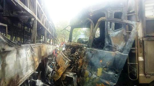 Tai nạn thảm khốc ở Bình Thuận: Xé lòng tiếng kêu cứu-1