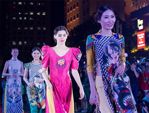 van hoa ao dai song day tai thanh pho mang ten bac - 9