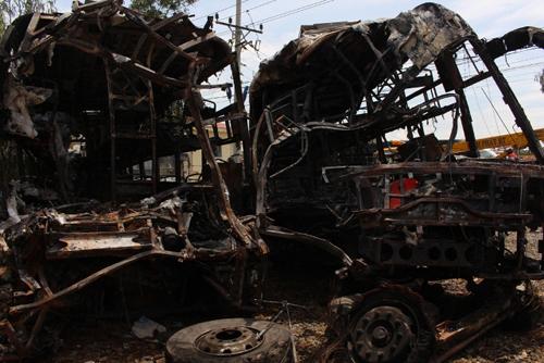 Vụ cháy xe 12 người chết: Làm rõ chiếc ô tô thứ 4-1