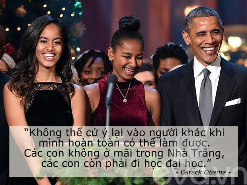 6 cau noi day con cua vo chong obama khien the gioi kham phuc - 6