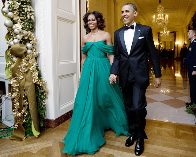 Gu thời trang tinh giản đầy thanh lịch của Tổng thống Obama - 7