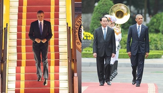 Gu thời trang tinh giản đầy thanh lịch của Tổng thống Obama - 1