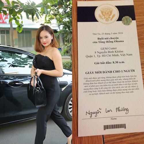 HH Thu Thảo, Lan Phương háo hức gặp Tổng thống Obama-3